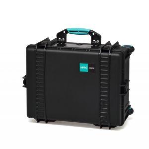HPRC HPRC2600WSSKBLB | Valigia in resina HPRC 2600W con ruote per il trasporto di attrezzatura audio/video/foto | Trolley