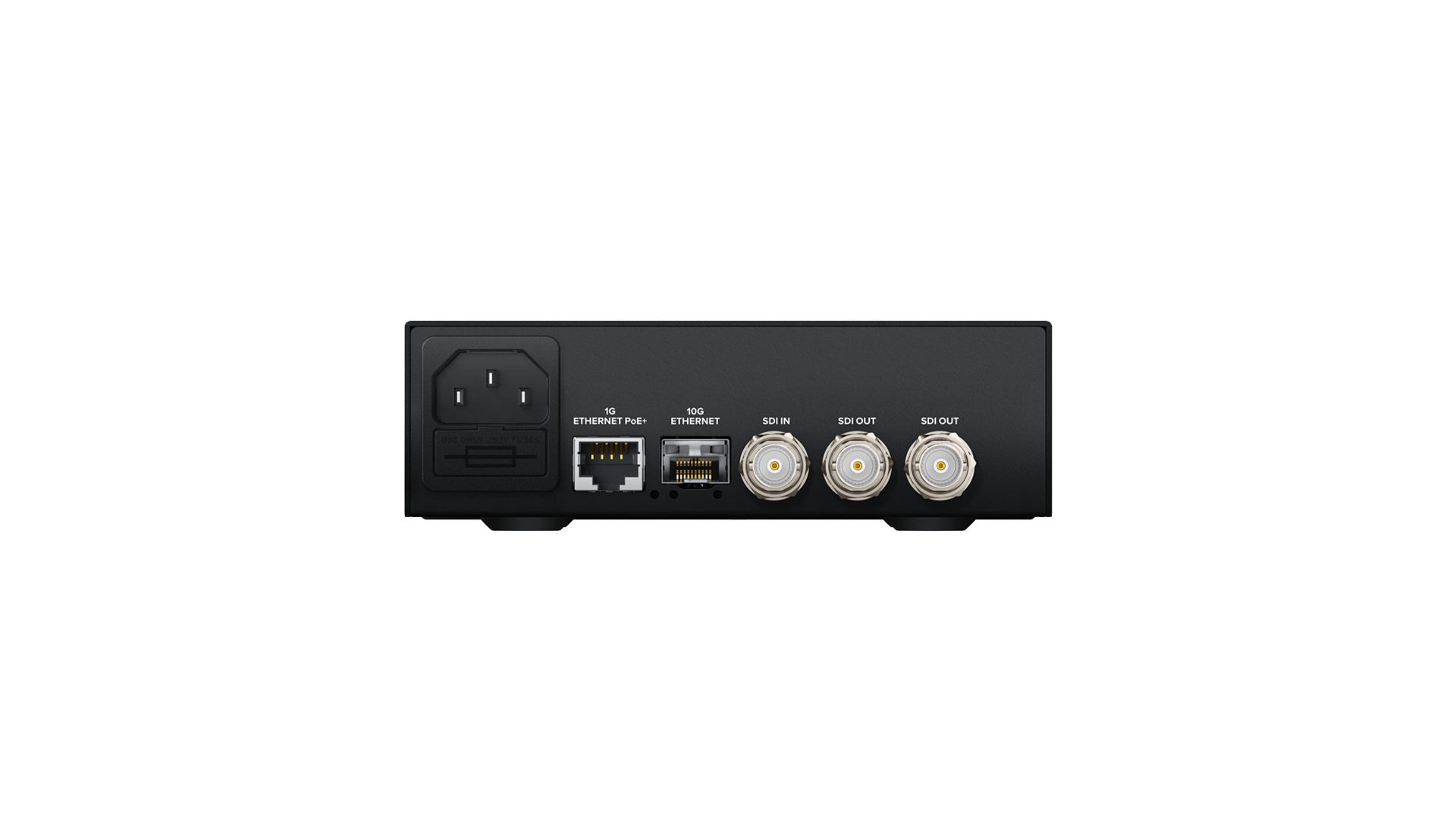 Blackmagic CONVNTRM/OB/IPV | Teranex Mini IP Video 12G | Convertitori | Distributori
