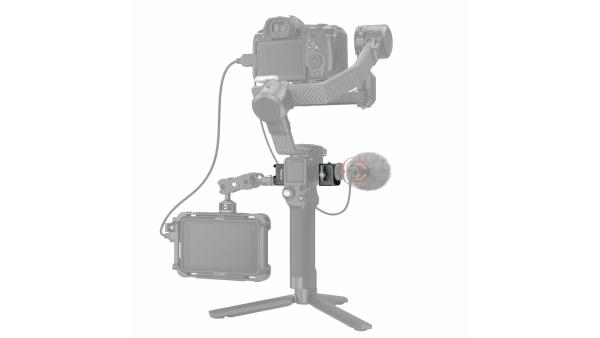 SmallRig 3025 | Clamp SmallRig 3025 per montaggio di accessori su DJI RS 2/RSC 2 | Piastre